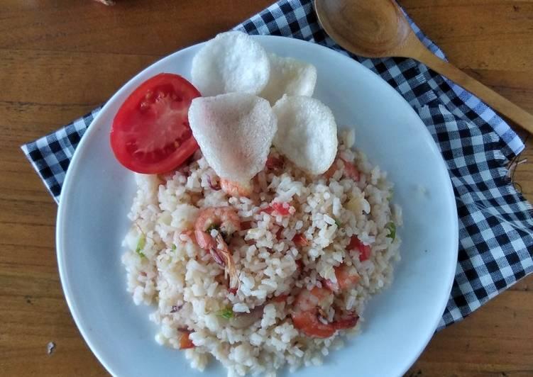Nasi Goreng Tomat Udang