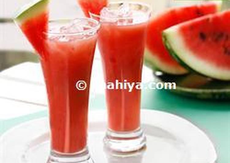Recipe of Ultimate Watermelon juice
