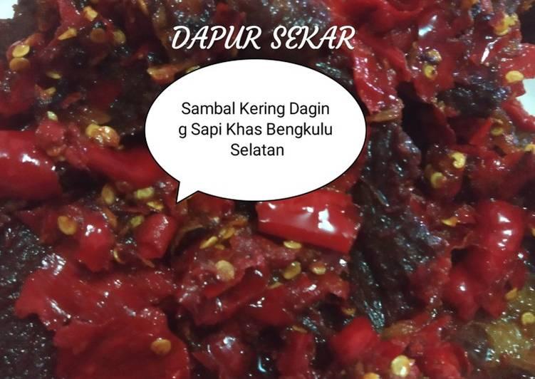 Sambal Kering Daging Sapi Khas Bengkulu Selatan