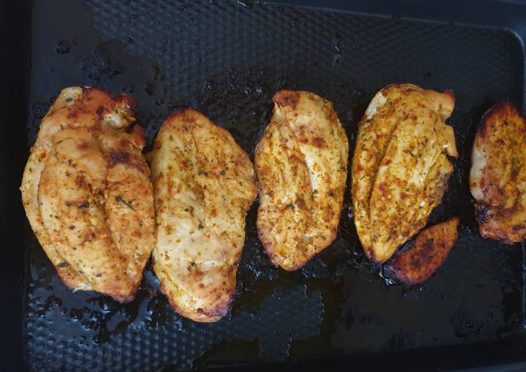 Oven Baked Peruvian Style Chicken