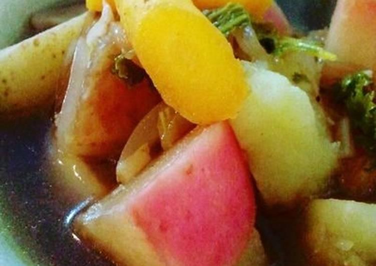 Recipe of Most Popular Vegetable Balsamic Vinegar Soup
