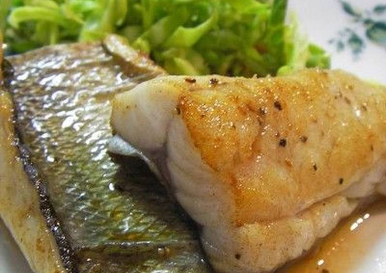The Best Butter-Roasted Sea Bass