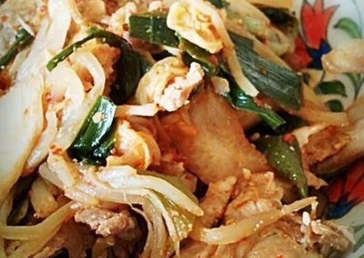 Pork with Kimchi