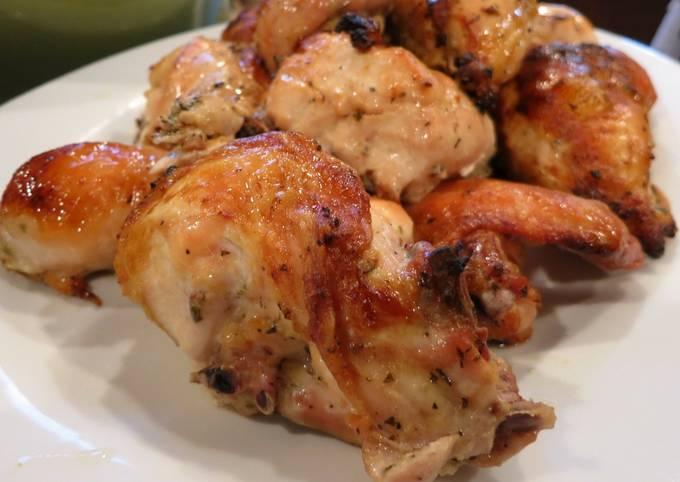 Simple, Easy, Delicious Lemon Garlic Roast Chicken