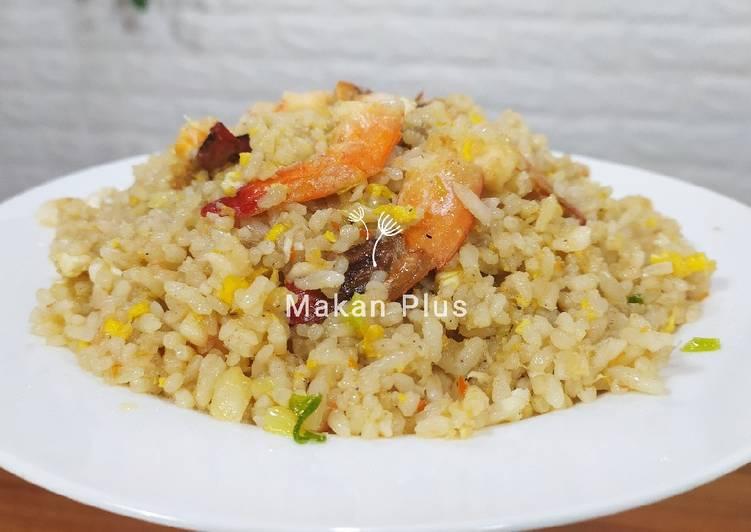 Resep Nasi Goreng Seafood ala Restaurant Terbaik