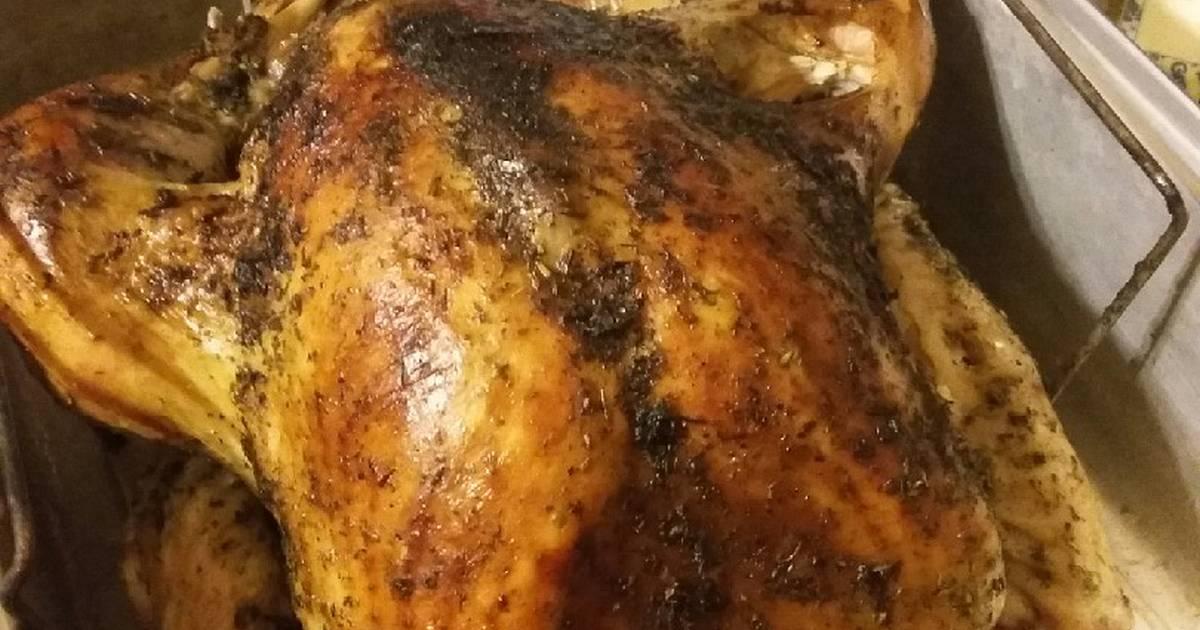 Herbed Butter Injected Roast Turkey