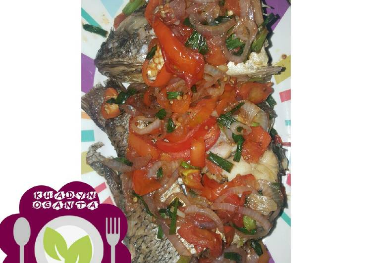 Easiest Way to Prepare Speedy Oven grilled fish