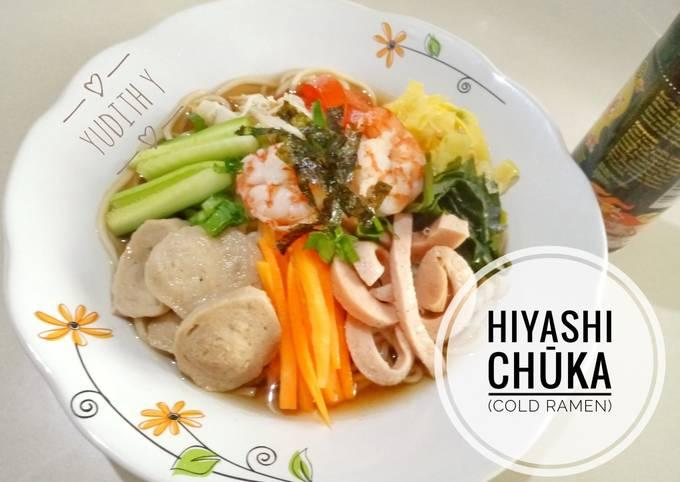 Hiyashi Chuka (Cold Ramen/Ramen Dingin) #BikinRamadanBerkesan