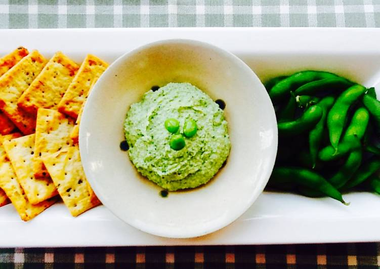 Recipe of Perfect Edamame Yuzu Hummus
