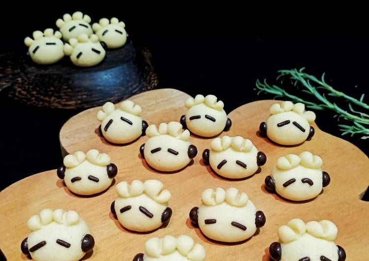 German Sheep Cookies