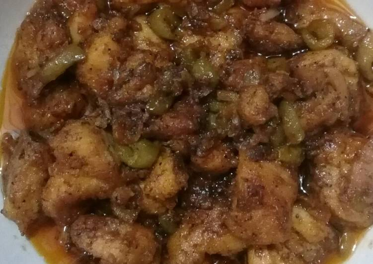 Teekha masala chicken karai