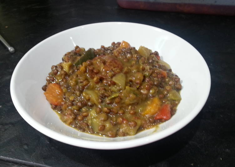 Step-by-Step Guide to Prepare Homemade Lentil stew (lentejas)