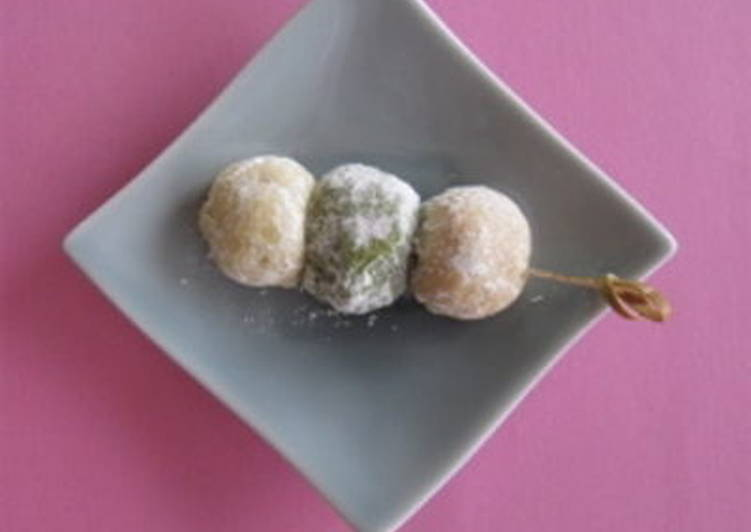 Steps to Make Award-winning HANAMI DANGO Cookies