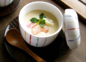 Easiest Way to Make Delicious ChawanMushi Japanese Egg Custard