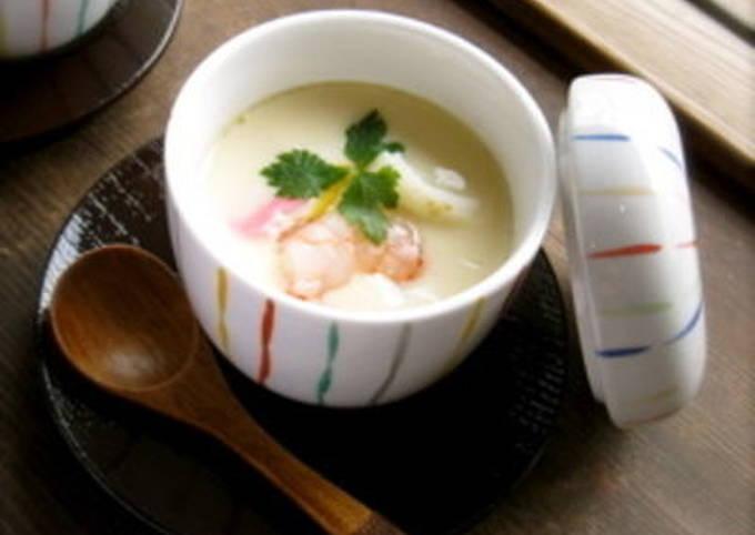 Chawan-Mushi (Japanese Egg Custard)