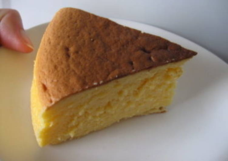 This is it! Japanese Souffle Cheesecake
