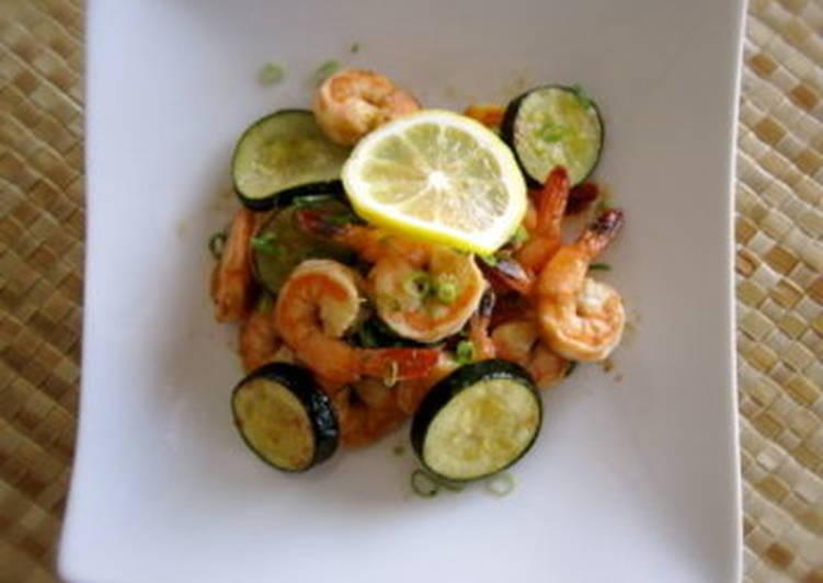 Soy Sauce Shrimp Scampi