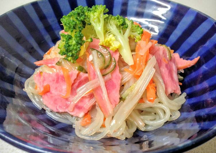 Harusame (Japanese Vermicelli) Salad