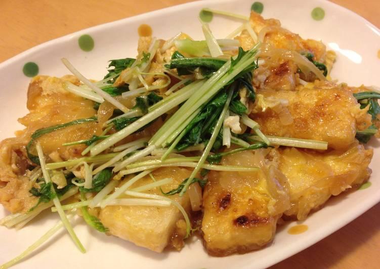 Egg-Drop Soup with Tofu (Tamagotoji)