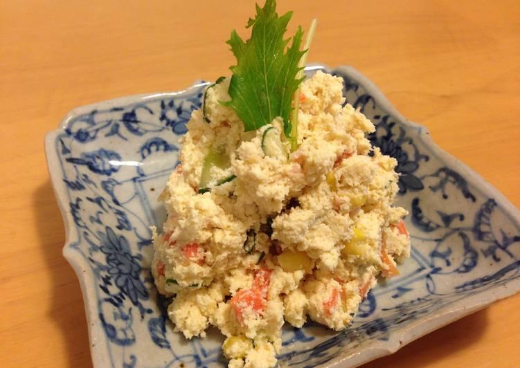 How to Make Speedy Okara Salad