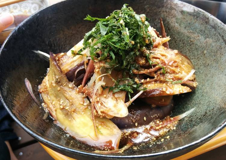 How to Cook Appetizing Ponzu & Ume Sauce with Eggplants