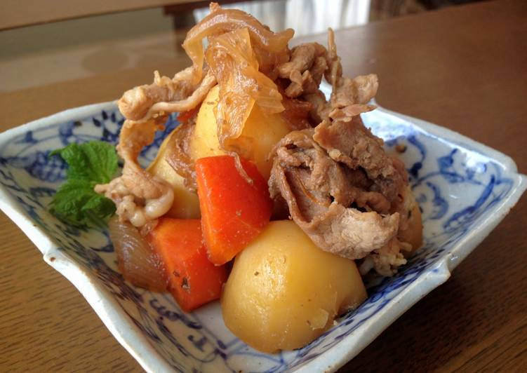 Simple Way to Make Ultimate Braised Pork and Potatoes