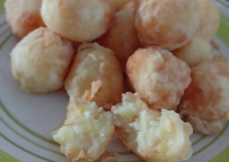 Potato Cheese With Fish