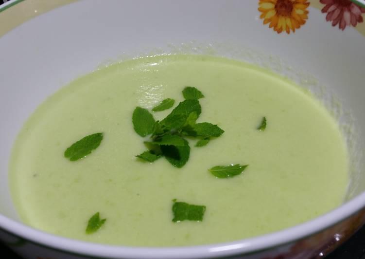 Melon gazpacho