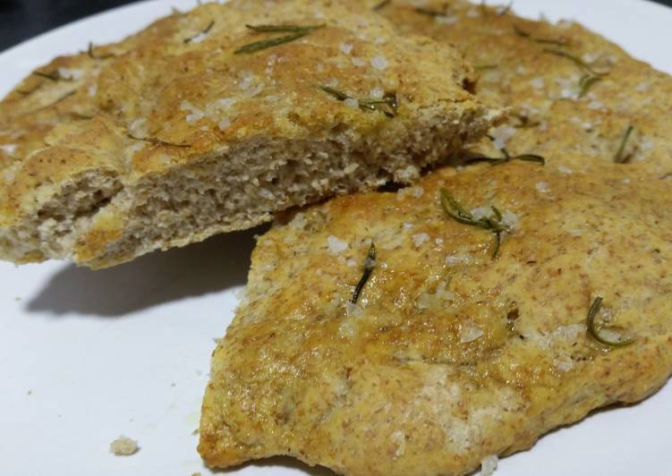 Tuscan flatbread with wholemeal flour
