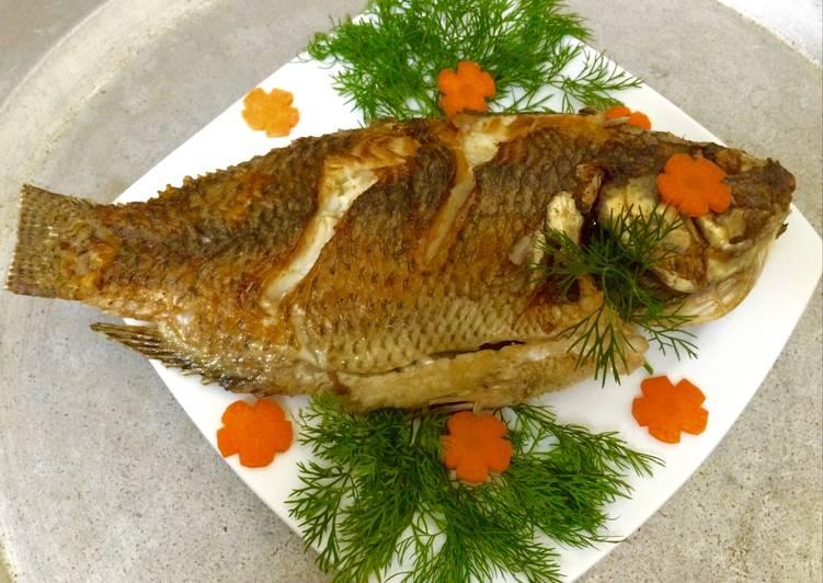 Cách Làm Món Cá rô phi chiên giòn của Hương Lê - Cookpad