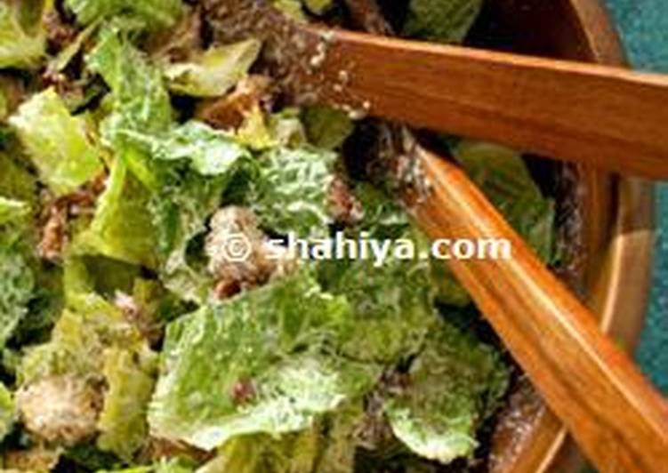 How to Cook Delicious Diet Caesar Salad