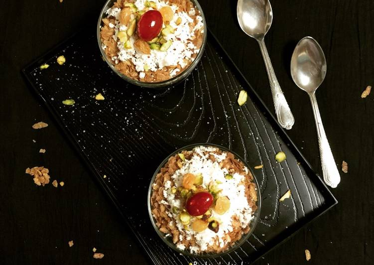 Step-by-Step Guide to Prepare Any-night-of-the-week Mishti Chire Bhaja (Sweet Fried Beaten Rice)