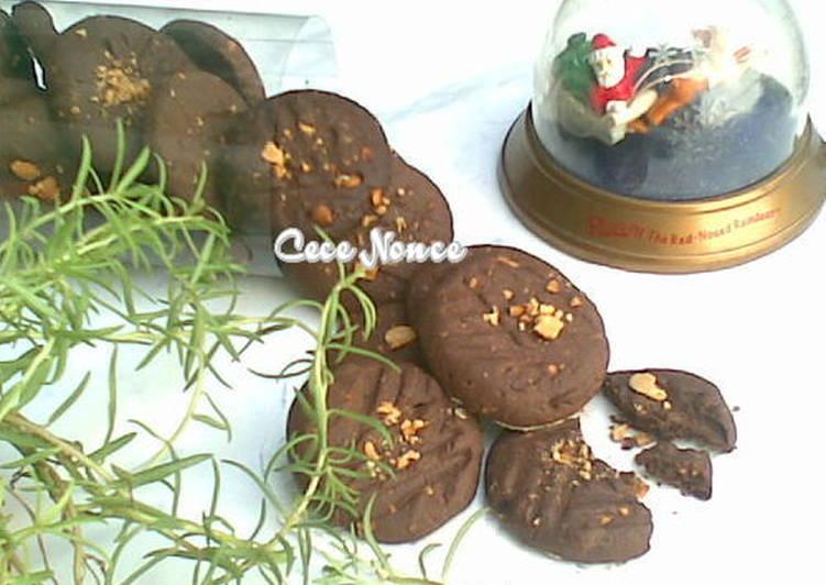 Kukis Coklat Kacang