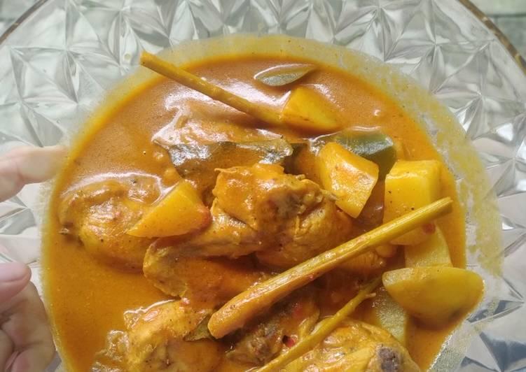 Resep Gulai Ayam Tidak Pedas yang Lezat Sekali