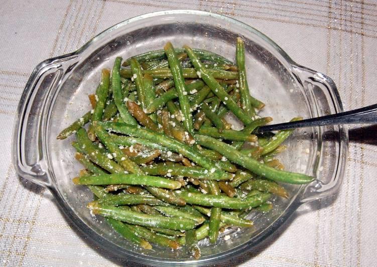 Easiest Way to Prepare Favorite Italian Parmesan Green Beans