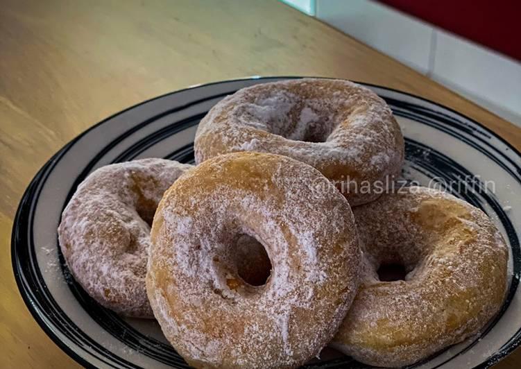 Cara Mudah Masak: Donut  Lazat
