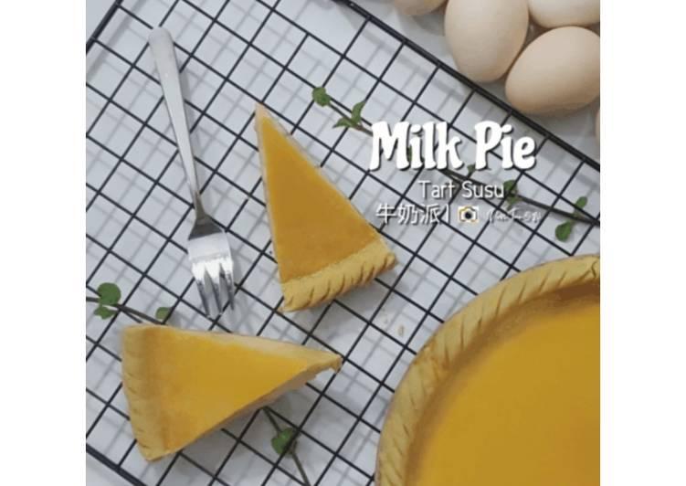 259. Pie Susu   Tart Susu Pontianak   牛奶派