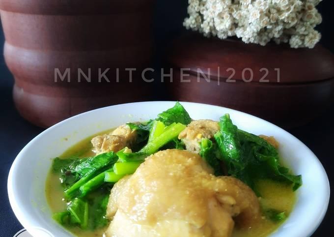 Ayam Opor Sawi Kampung