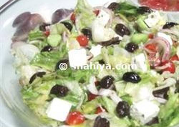Yummy Diet Greek Salad