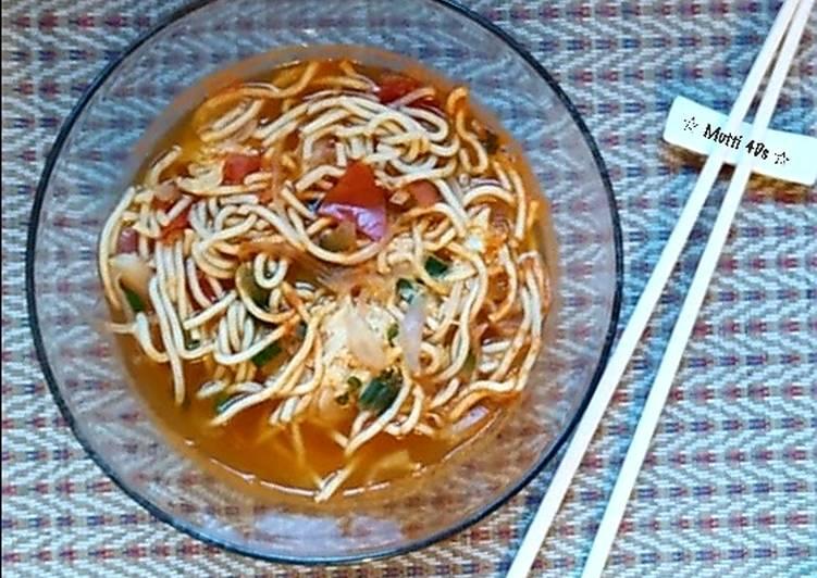 Mie Telur / Ramen Rasa Tomat
