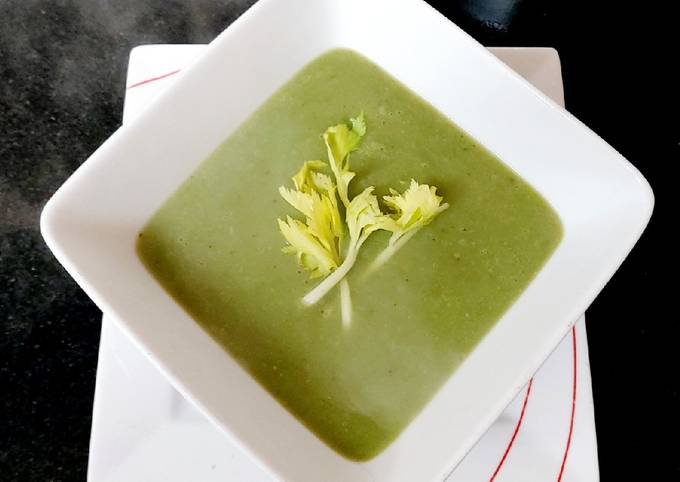 My Spinach & Celery Soup 🥰
