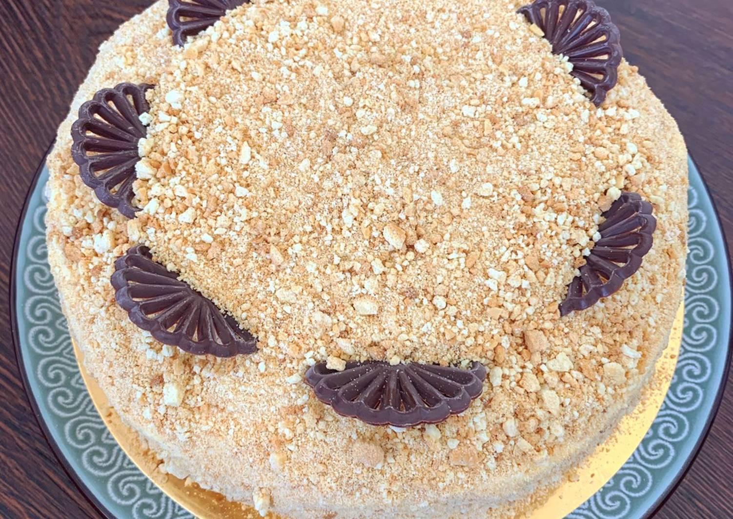 торт медовик ангарский рецепт с фото половина