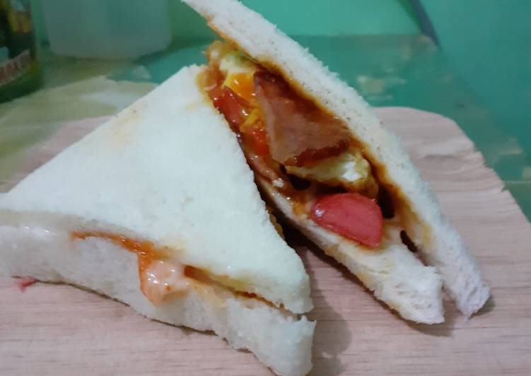 Resep Sandwich ala ala Paling Joss