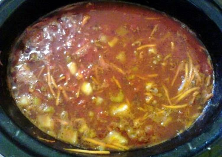 Crock Pot Pasta Fagioli