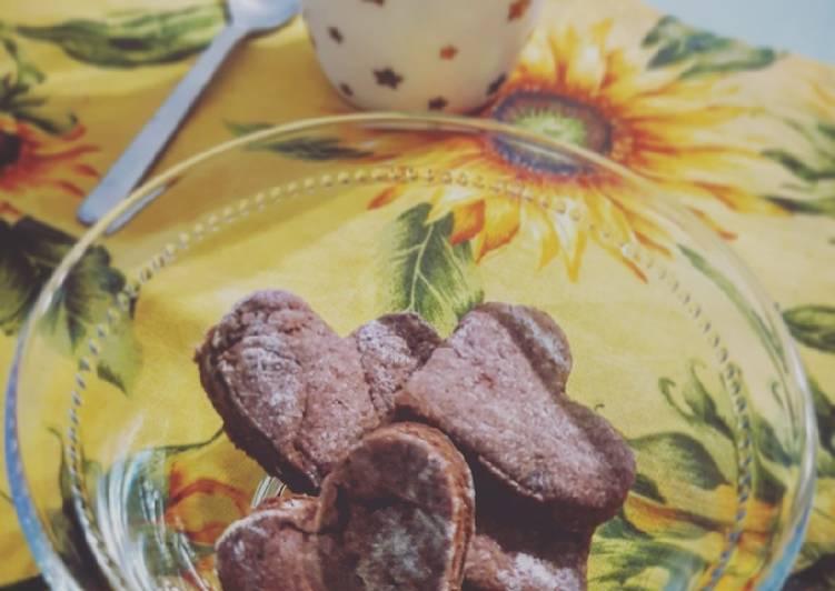 Ricetta Biscotti al Cacao 🍪