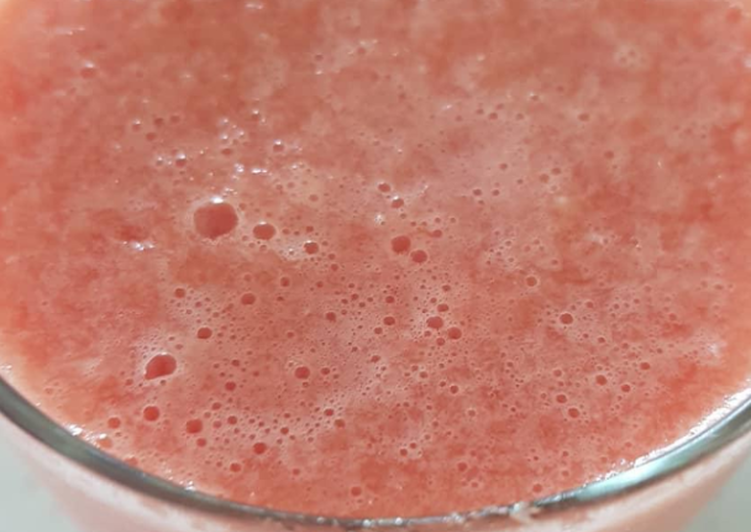Easiest Way to Make Super Quick Homemade Water melon drink