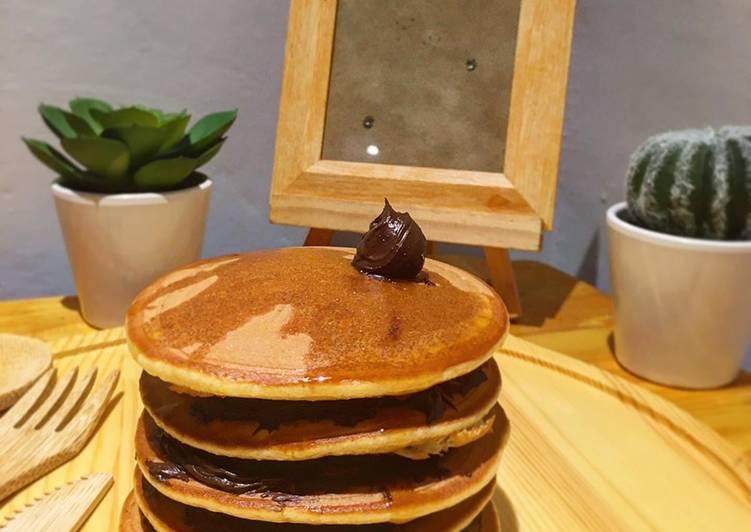Resep Pancake Simpel anti gagal yang Enak