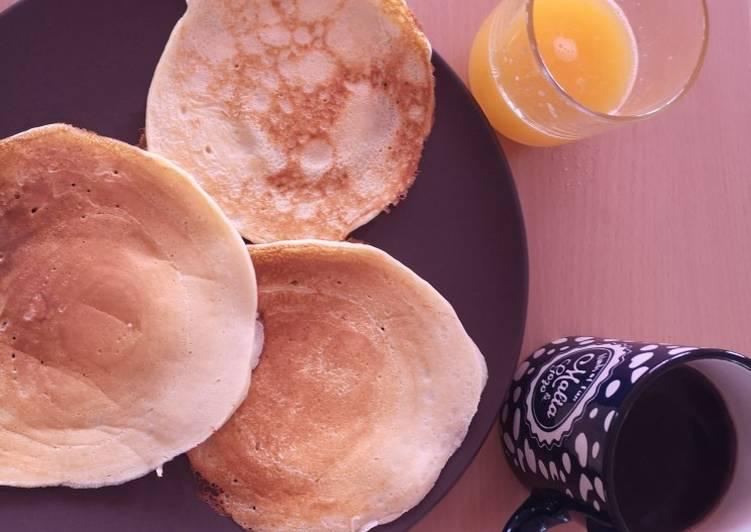 Comment faire Préparer Délicieux Pancake