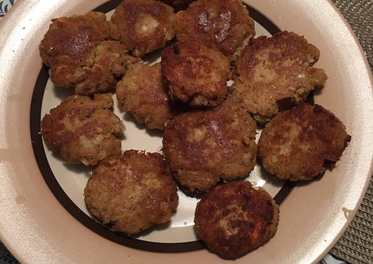 Tuna balls(τόνο κεφτεδάκια)