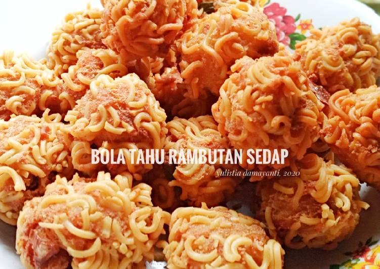 ¹¹³ Bola Tahu Rambutan Sedap - cookandrecipe.com